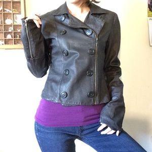 Bailey 44 Jackets & Coats - Bailey 44 Dark Brown Soft Leather Jacket